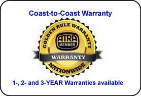 Nationwide Warranty!